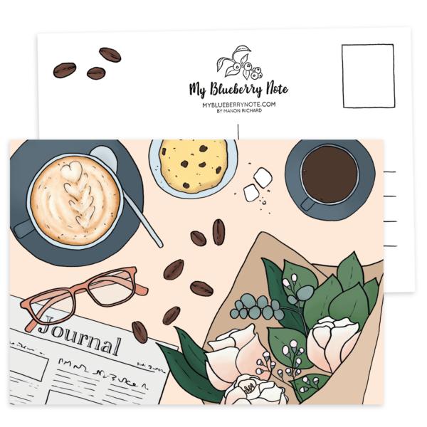 Postcard Coffee Café