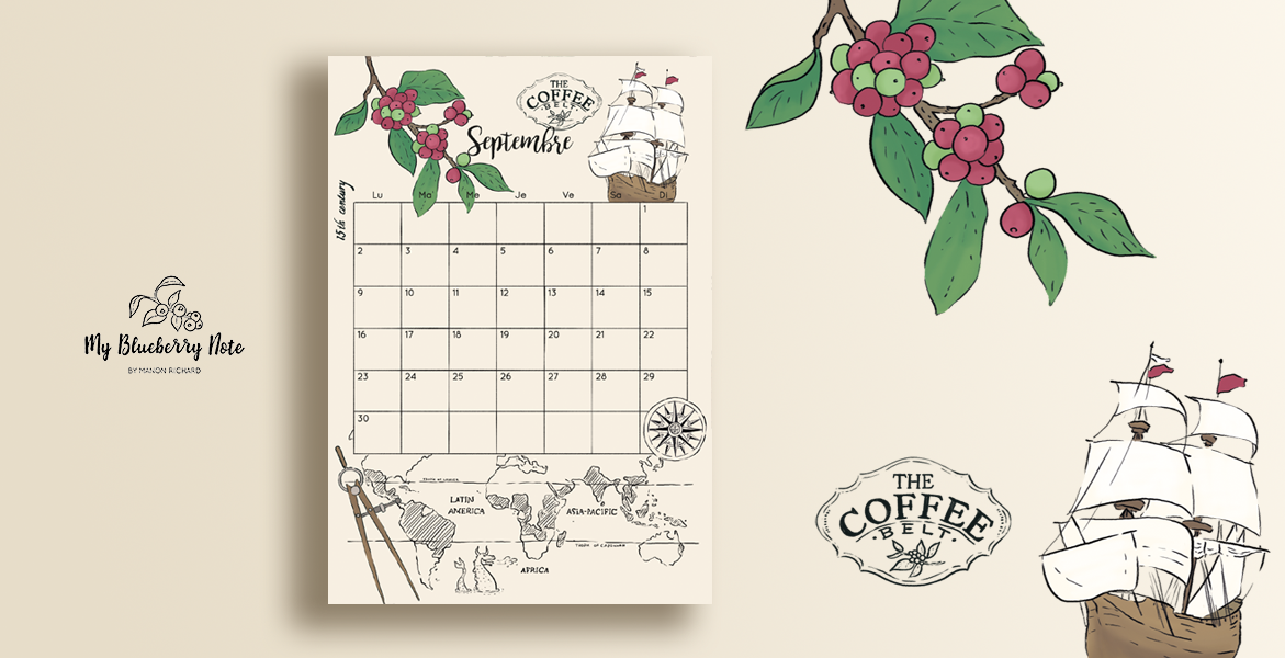 Calendar coffee belt