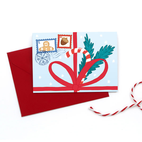 Greetings cards Christmas gift square